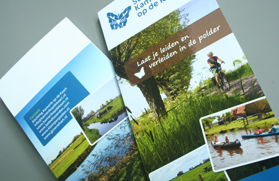 Folder Stichting Kamerik op de Kaart