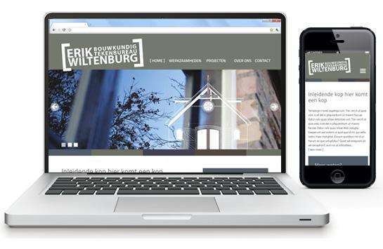 Nieuwe website Erik Wiltenburg Bouwkundig tekenbureau