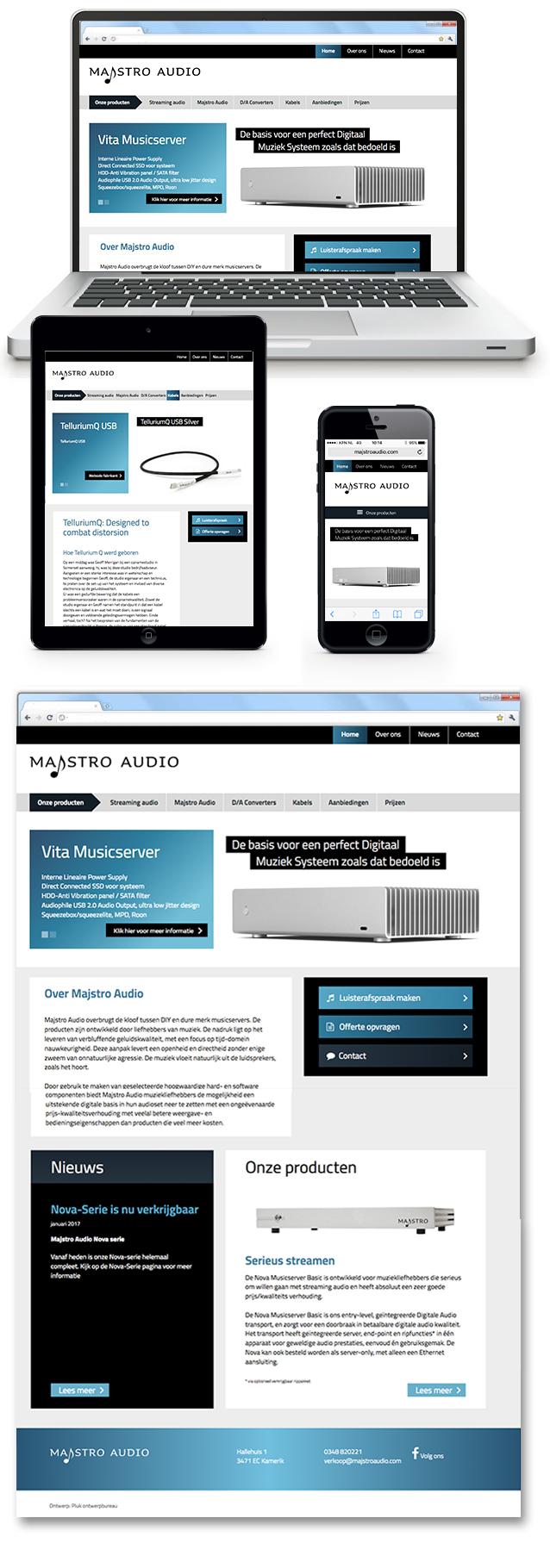 Website Majstro Audio
